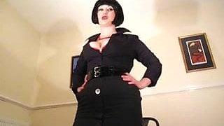 Mistress Polly - Femdom Boss Foot Fetish Slave Training