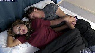 Nina Dolci Seduce Him While He Is Sleeping
