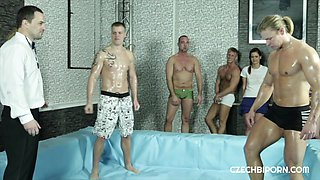 Hot party for bisexual horny couple