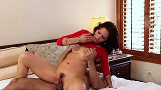 Housewife milf pussy fucked in taboo couple