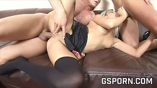 Music School MFM Meat Down - Ass 3some