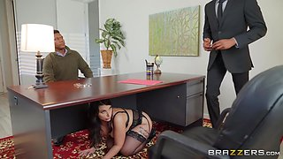 sexy brunette milf loves big black cocks