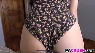 stepfather prepares his hot teen daughter