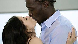 BLACKED British Wife Ava Dalush Loves Big Black Cock