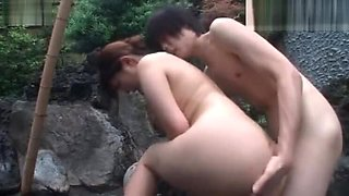 Outdoor Fucking With Hot Japanese Beauty