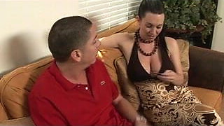 Sexy Massage Girl Gives a HOT Blowjob and 69