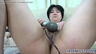 Japanese granny still wants pussy pleasure