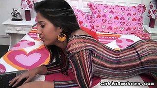 Mayra - Amateur Latina Smoking Porn