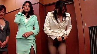Yuka Secretary Pantyhose Fetish Pantyhose Panties Ver.6 Sexy Plump Hip