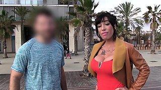 LAS FOLLADORAS - Spanish MILF fucks pornstar and amateur guy