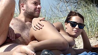 Sex fail spotted on nudist beach
