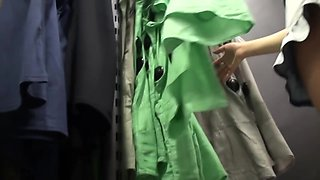 Incredibly entrancing upskirt hidden cam video