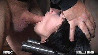 kinky emo lydia gets a dick rammed down her throat