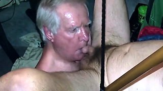 Grandpa blowjob series - 9