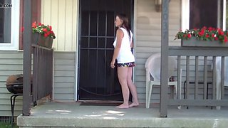 teasing the neighbors wife