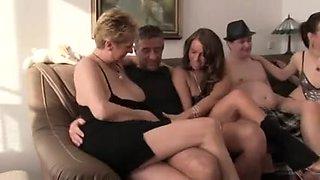 European amateur orgy. All ages