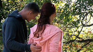 RELAXXXED - Sensual fuck in the forest with busty Czech babe
