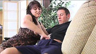 FetishNetwork Angelique cougar jerkoff