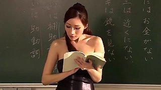 Exotic Japanese slut Julia in Crazy Cougar, Lingerie JAV movie