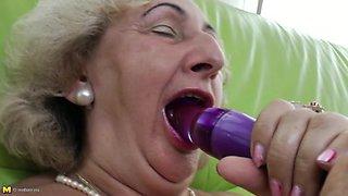 Granny Mathilda E. 67 years old