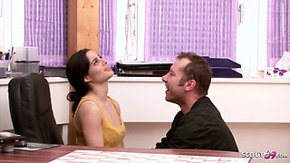 GERMAN BROTHER SEDUCE STEP SISTER TO FUCK - FAMILY ROLEPLAY