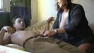 Romanian Mamma Fucking Young Sexually Excited Russian Student Boy-Friend