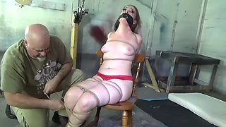 UNDERCOVER HACKER BRUTALLY BOUND &amp GAGGED