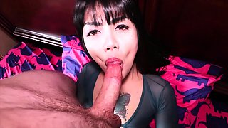 Big cock ladyboy played with a cock like with a sex toy